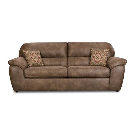 Brown Sofa Sleeper by Ulyses 93 Brown Upholstered Sofa Sleeper Rcwilley Image1