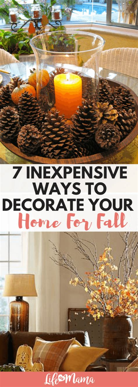 Cheap Easy Ways To Decorate Your Home by 7 Inexpensive Ways To Decorate Your Home For Fall