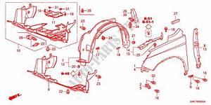 Front Fenders For Honda Cars Cr