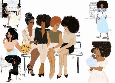 tenu de cuisine femme illustrations de mode et d 39 afro 5 comptes instagram à suivre pagnifik