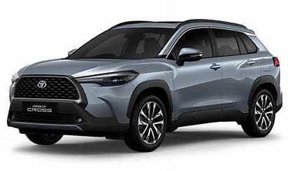 Toyota Corolla Cross Astra Celestite Metallic Gray