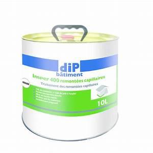 Remontée Capillaire Mur : traitement des remont es capillaires sur murs pleins dip ~ Premium-room.com Idées de Décoration