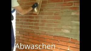 Fotos An Wand Kleben : alte ziegel verblender kleben und ausfugen die inneren ~ Lizthompson.info Haus und Dekorationen