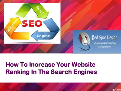Increase Search Engine Ranking by Ppt How To Increase Your Website Ranking In The Search