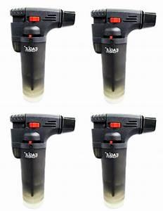 4 Pack Eagle Jet Torch Gun Lighter Adjustable