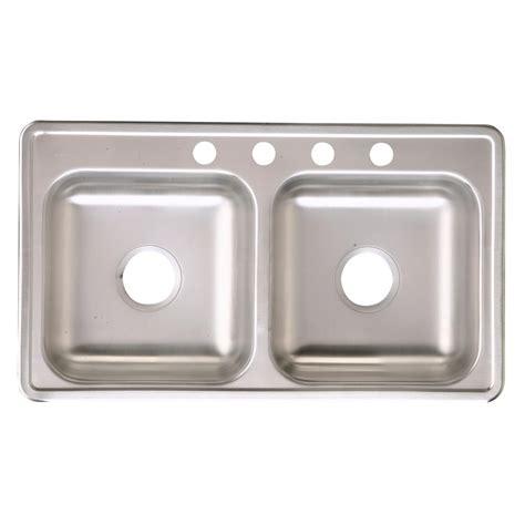 drop in stainless steel kitchen sinks 33 x 22 elkay neptune drop in stainless steel 33 in 4