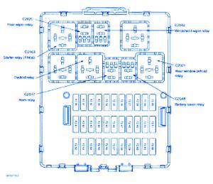 ford focus tdci  engine fuse boxblock circuit breaker diagram carfusebox