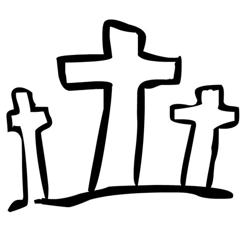 easter cross clipart black and white faith paisleyperspective