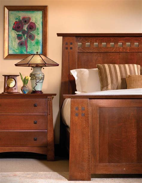 stickley mission oak cherry collection   mission