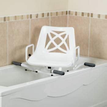 siege baignoire handicapé siège de bain pivotant ajustable en largeur performance