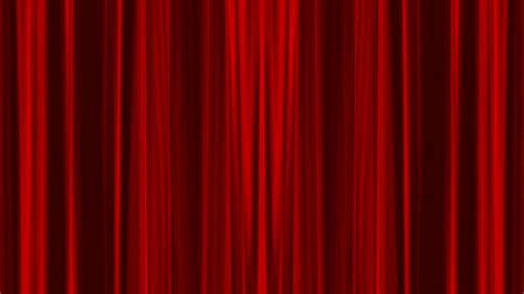 Opening Red Curtain With Alpha Chanel Included Stock Video