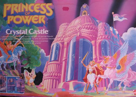 manorg toys princess  power crystal castle