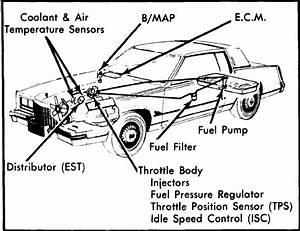 1980 Cadillac Fleetwood Fuel Filter Location  I Just Got