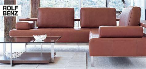 Rolf Ausstellungsstück by Rolf Dono Dein G 252 Nstiges Designer Sofa M 246 Bel