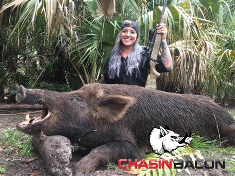 boar hunting hog florida trophy wild female naples pig hogs south bacon ladies deer hunts chasin island west meat arcadia
