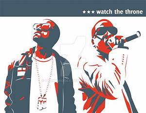 Kanye West and Jay-Z by PookyWooky on DeviantArt