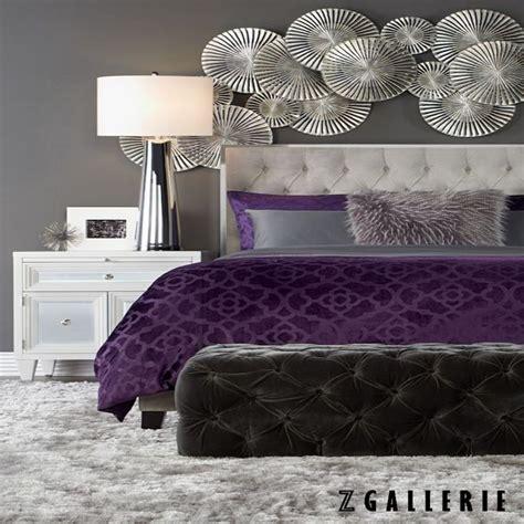 purple grey bedrooms ideas  pinterest purple