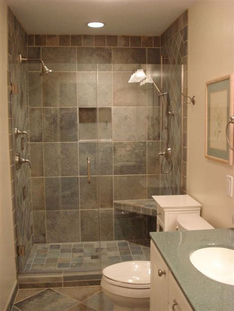 ideas  small bathroom showers  pinterest