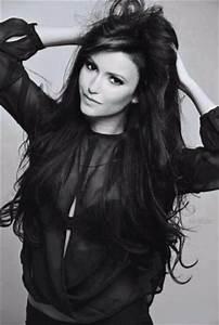 Nina Dobrev images Nina black and white HD wallpaper and ...