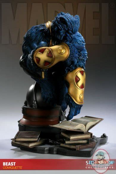 Marvel Beast Comiquette Polystone Statue by Sideshow ...