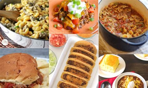 easy dinner recipes with hamburger 56 easy dinner ideas with ground beef the gracious wife