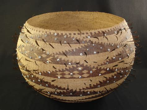 pomo native american indian baskets basketry gene