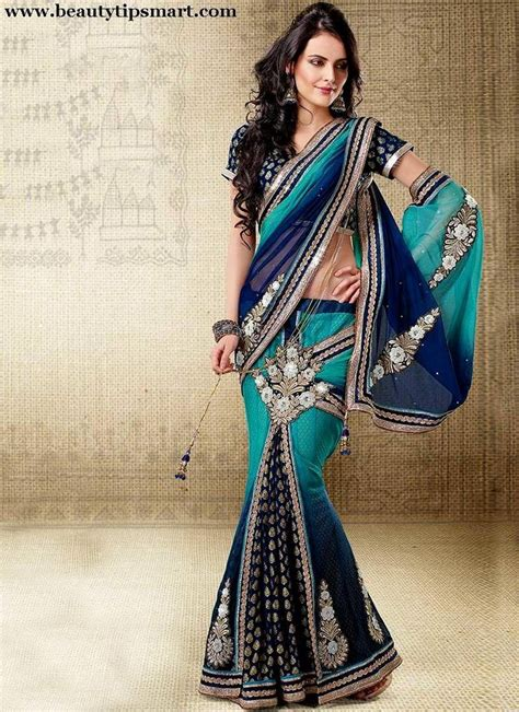indian bridal wear saree collection  fashion