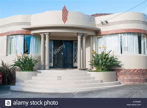Art Deco Home Style : Waterfall (art Deco) Style Homes In A Melbourne Suburb