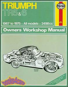Shop Manual Triumph Service Repair Book Haynes Chilton