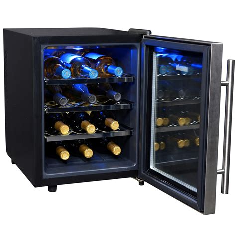 countertop wine cooler newair aw 121e 12 bottle countertop thermoelectric