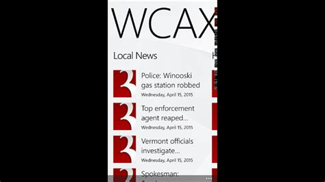 Wcax Vermont News For Windows 10 Pc Free Download