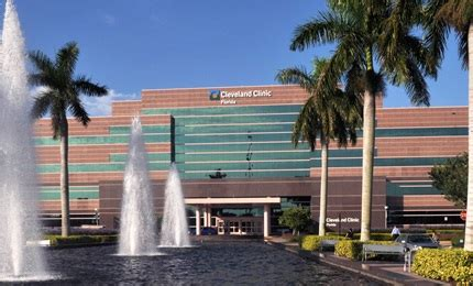 cleveland clinic florida top rated hospital  weston