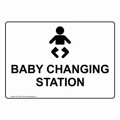 Changing Station Unisex Assisted Nhe Signs Bathroom