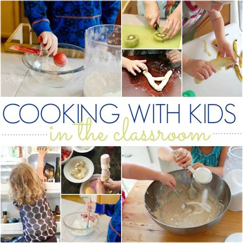 ideas and tips for cooking with preschoolers pre k pages 442 | cooking in the classroom