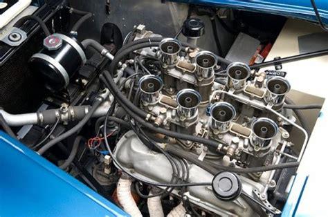 photo car  engine bay shelby ac cobra  usrrc