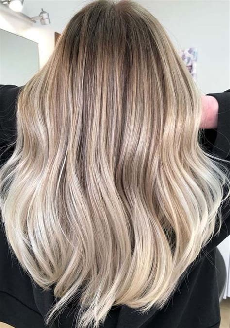 Awesome Creamy Balayage Hair Color Highlights for 2019 ...