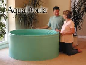 Water Birth In Bathtub by Aquadoula Portable Heated Birth Pool Tubs For Labor And