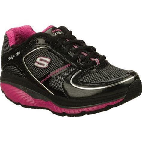s skechers shape ups s2 lite black pink overstock shopping great deals skechers