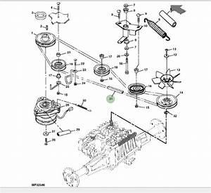 Genuine John Deere Belt M142499 Mower Transmission Belt