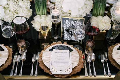 art deco wedding inspiration elegantweddingca