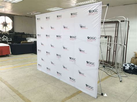 Backdrop Display by Pop Up Display For Trade Shows Plus Step Repeat Banners
