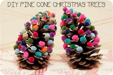 pine cone christmas crafts make pine cone christmas trees 187 dollar store crafts