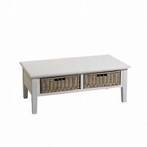 Table Basse Bois Pas Cher : table basse bois blanc pas cher table basse en bois et fer ~ Carolinahurricanesstore.com Idées de Décoration