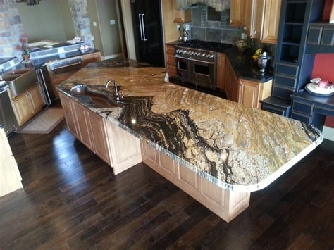 supreme gold granite for the kitchen gold
