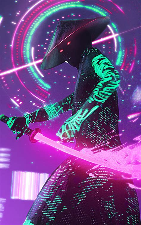 Find over 100+ of the best free cyberpunk images. 800x1280 Neon Samurai Cyberpunk Nexus 7,Samsung Galaxy Tab 10,Note Android Tablets Wallpaper, HD ...