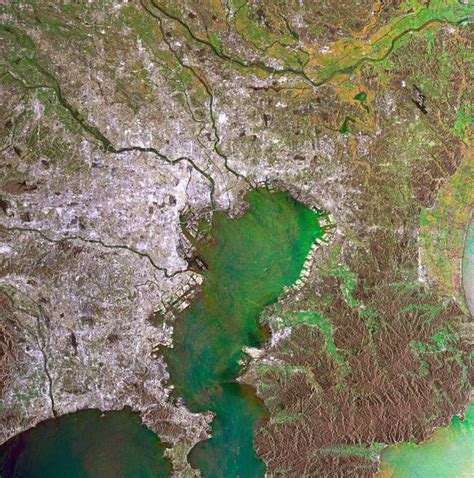 Tokyo Japan Observing The Earth Our Activities Esa