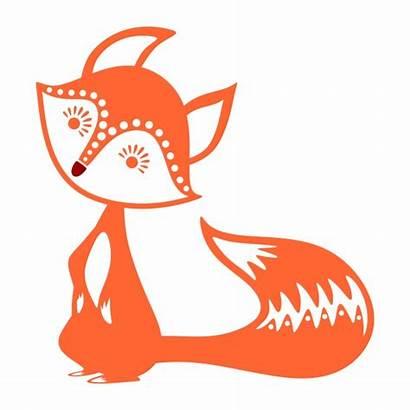 Fox Cuttable Svg Silhouette Clipart Designs Cut