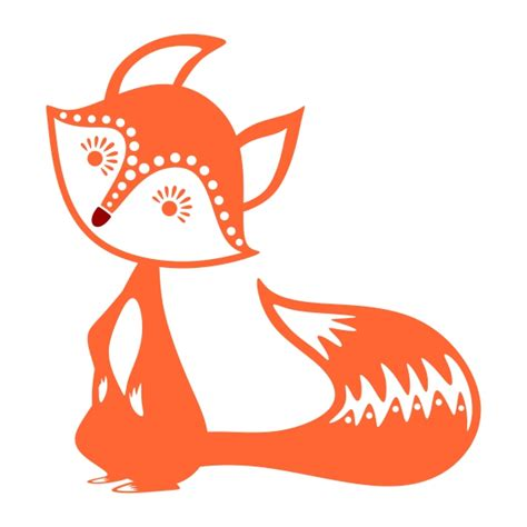 Freesvg.org offers free vector images in svg format with creative commons 0 license (public domain). Cute Fox Cuttable Design