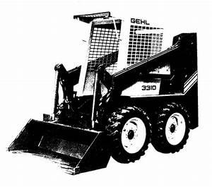 Gehl 3310  3410 Skid Loader Illustrated Master Parts List