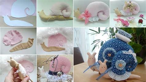 diy cute snail pillow home design garden architecture